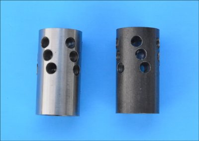 Short Muzzle Brakes - Small Caliber